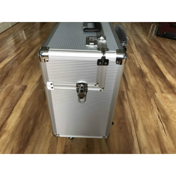 Aluminum Travel Case with Telescopic Handle
